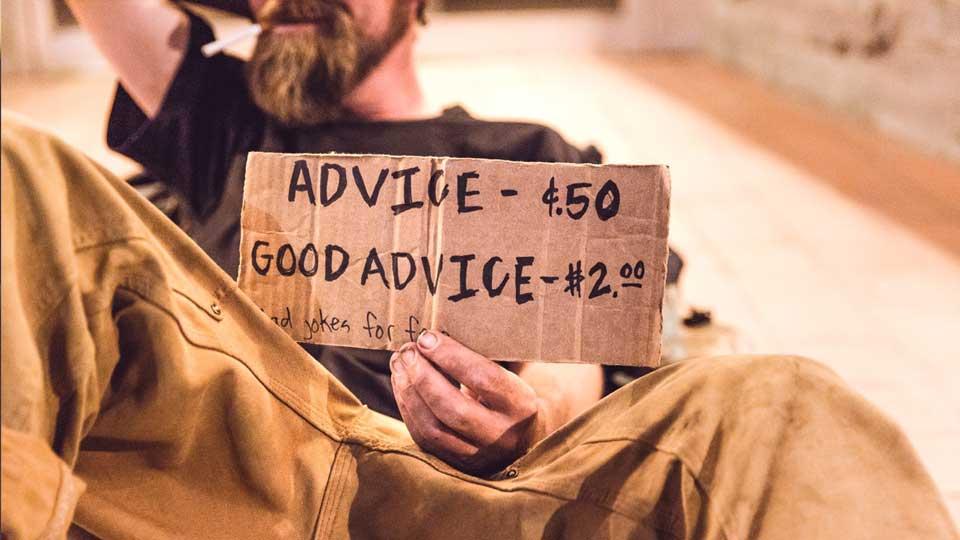 El valor de un buen consejo