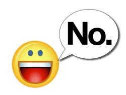 Cómo decir ¡NO! con una Sonrisa (2da parte)